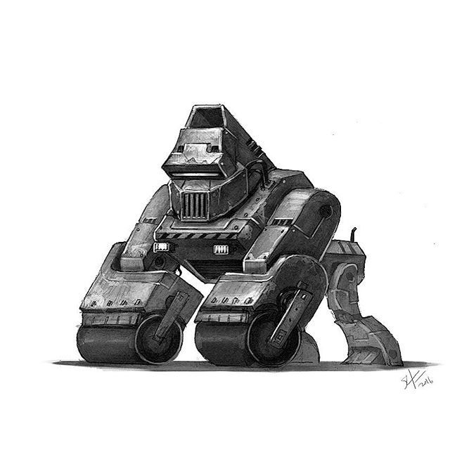 Tonights Robot No24 Marchofrobots Mech Animals