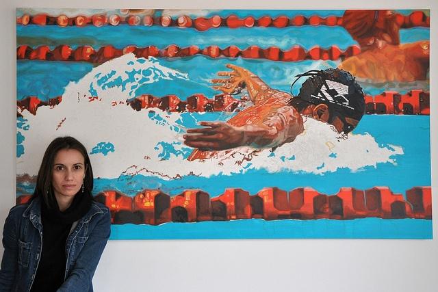 Nadador, work in progress - by Susana Nahmias, via Flickr