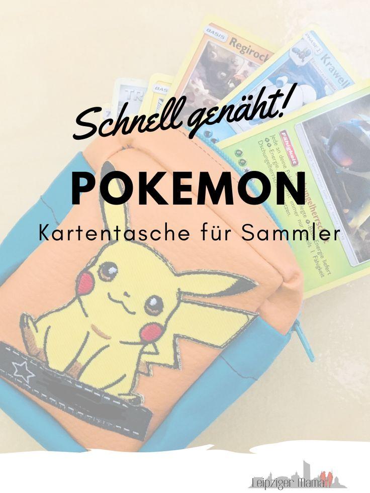 Kleine Pokemon-Kartensammler benötigen die richtige Ausrüstung. Also geh zum M …   – DIY Nähen für Kinder