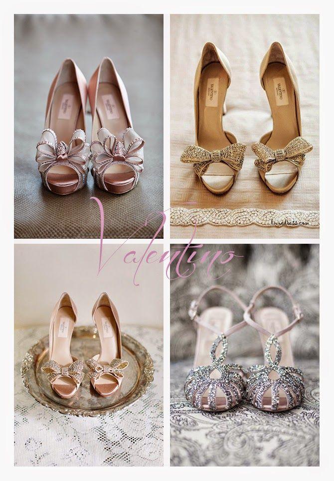 silovoglio... il BLOG oh, so beautiful shoes! #bride #shoes