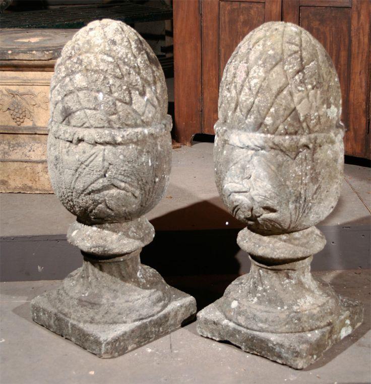 90 Best Stone Artichoke Images On Pinterest Pine Cones