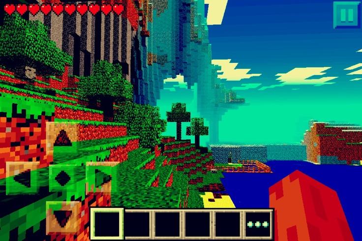 Minecraft PE seed: Nyan