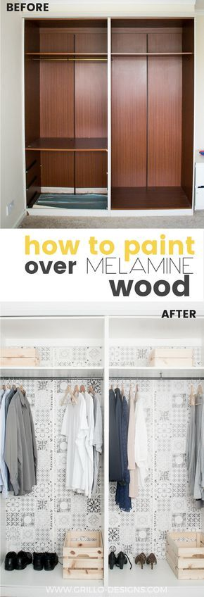 How To Paint Melamine Wood   And Live To Tell The Tale!