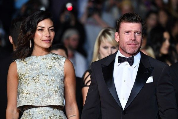 Taylor Sheridan and Nicole Sheridan Photos Photos - US director Taylor Sheridan and his wife Nicole Sheridan arrive on May 20, 2017 for the screening of the film 'Wind River' at the 70th edition of the Cannes Film Festival in Cannes, southern France.  / AFP PHOTO / Alberto PIZZOLI - 'Wind River' Red Carpet Arrivals - The 70th Annual Cannes Film Festival