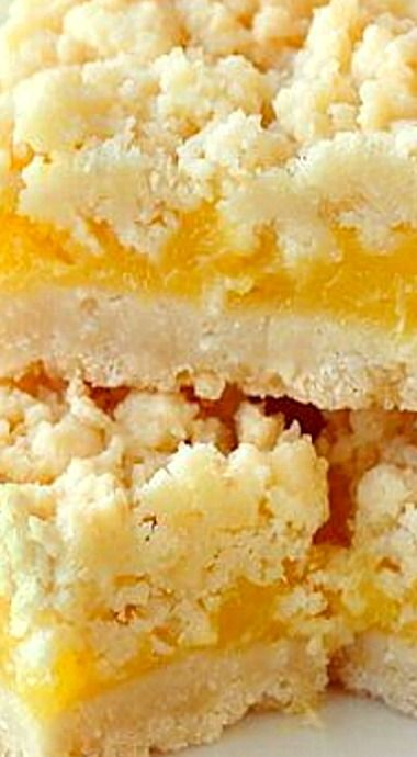 Coconut Lemon Crumble Bars - a 35  year old family recipe that combines coconut and tangy lemon filling in a buttery crumble bar cookie.…