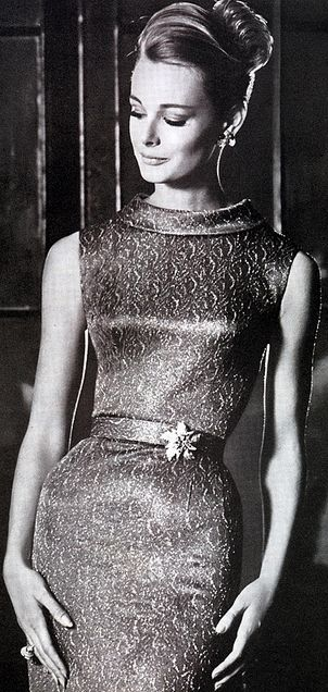 Glamour. <3 1960's | More fashion lusciousness here: http://mylusciouslife.com/photo-galleries/historical-style-fashion-film-architecture/