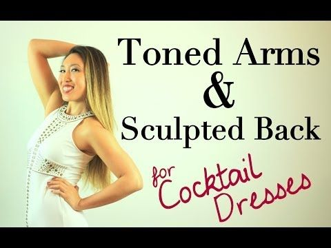 COMPLETE ▶ Toned Arms & Sculpted Back POP Pilates   Cocktail Dress Series - YouTube