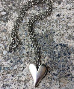 Halsband, hjärta