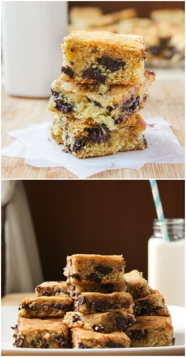These Ghirardelli Chocolate Chip Cookie Bars were ah-mazing. They melt right in your mouth, a delicious combination of cream cheese and chocolate chips.