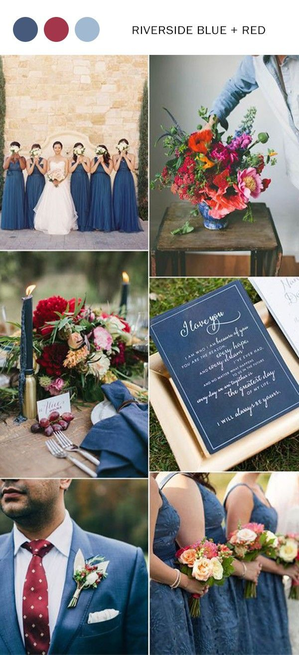 d583e58219c Top 5 Shades of Blue Wedding Color Ideas to Love | Wedding Colors ...