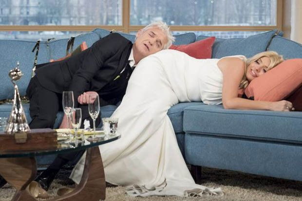 Were Phillip Schofield and Holly Willoughby still drunk on This...: Were Phillip Schofield and Holly Willoughby still… #HollyWilloughby