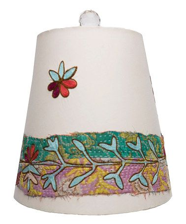 Decorative Lamp Shades 18 best decorative lamp shades images on pinterest karma lamp boho lownley flower embroidered lamp shade zulilyfinds audiocablefo