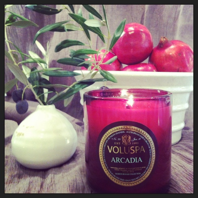 Voluspa candle from Perfect Pieces Www.perfectpieces.com.au