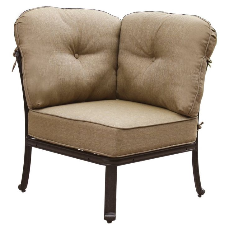 outdoor darlee elisabeth corner sectional patio chair dl705 5105 - Garden Furniture Lebanon