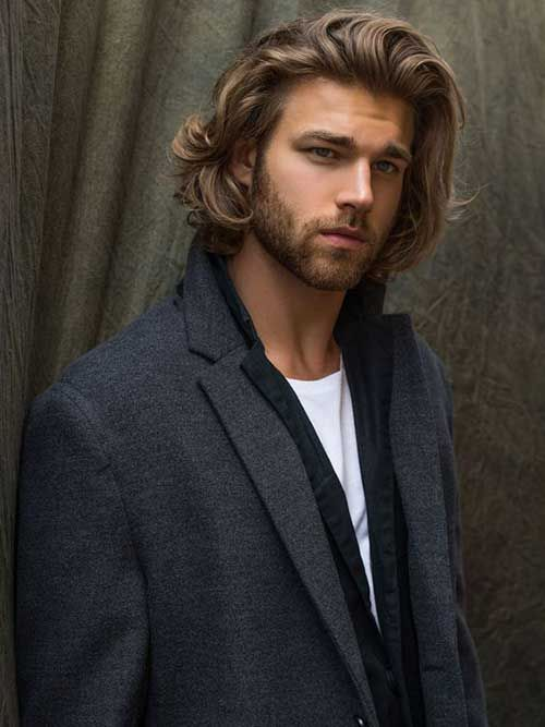 Thick Long Hairstyles Men