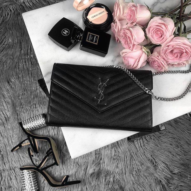 YSL Saint Laurent WOC bag #ysl #yslbag #saintlaurent #beauty #makeup