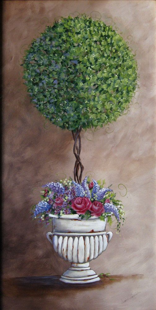 New  Topiary In An Urn by DianeTrierweiler on Etsy, $99.99