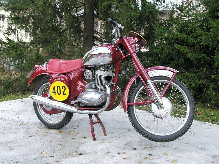 1961 Jawa 250cc Six Days S553 Motorbikes, Moped, 250cc