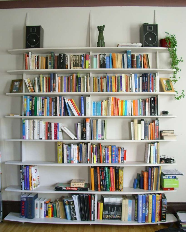 Easiest bookshelves to make I've found. Only needs a drill and jigsaw. Rent both at www.rentadrill.com