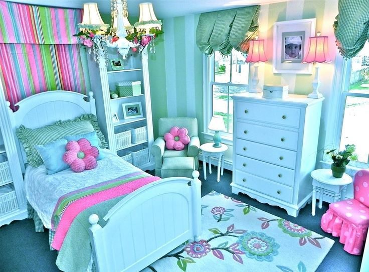 Decorating girls bedroom beautiful bedroom ideas for teenage girls teal and pink colors - Bedroom colors for teenage girls ...