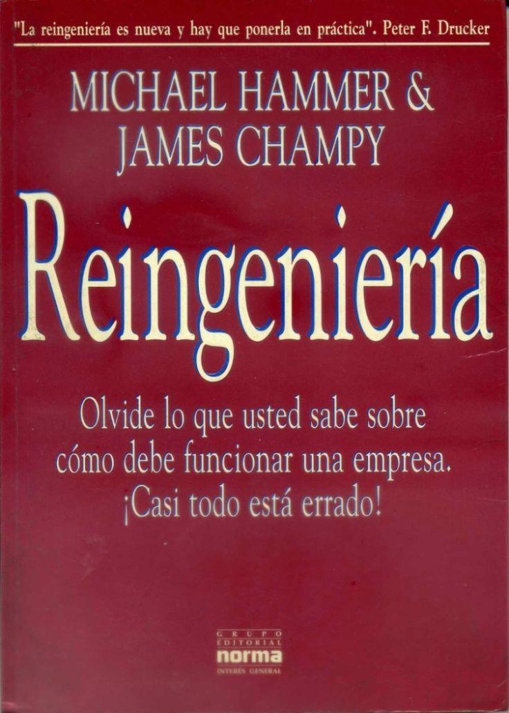 Descarga Libro Reingeniería por Michael Hammer y James Champyen PDF y en español   http://helpbookhn.blogspot.com/2014/05/Reingenieria-Hammer-Champy.html