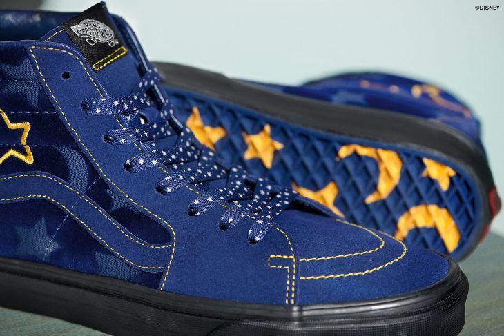zapatillas vans con estrellas