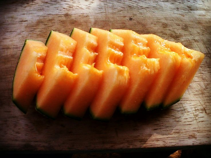 Slice of Rangipo melon