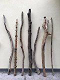 7 rießige Treibholz Äste Wurzeln 165cm bis 150cm Hölzer aus den Alpen Kunst Unikat Naturjuwel Schwemmholz Deko Stemme Wurzeln Äste Driftwood zum Basteln für Künstler Möbel von MEIERLE & Söhne