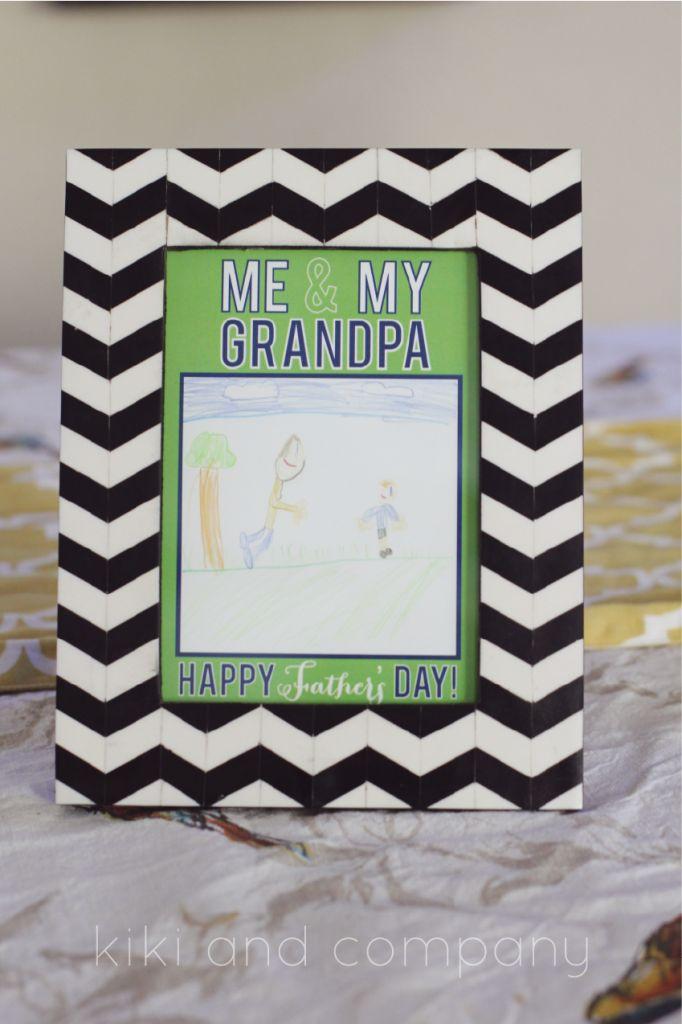 grandpa frame father's day