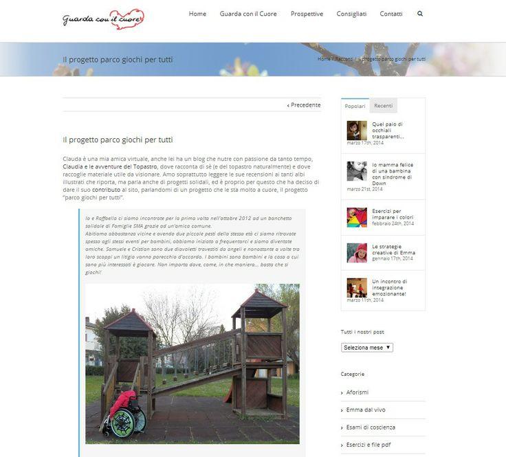 Il progetto parco giochi per tutti