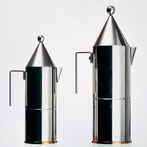 "La Conica espresso maker | Aldo Rossi ""didn't believe that form follows function"" says Alberto Alessi"