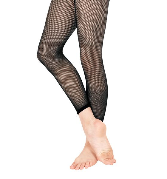 Add some sass to any costume with this capri footless fishnet tight. Tight  is ultra soft and feature a comfortable sewn-on waistband.