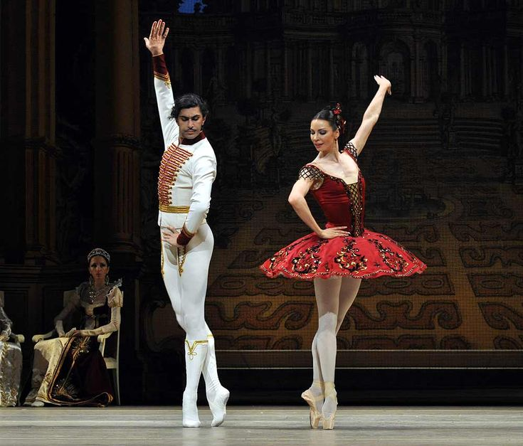 The Bolshoi Ballet in the Grand Pas from Paquita | Dance. Passion ...