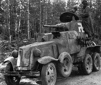 BA-10 Panssariauto #ba10 #sovietunion #winterwar
