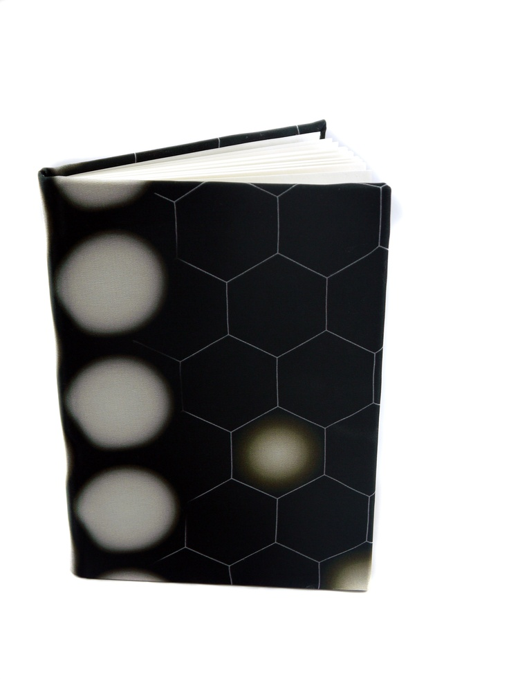 Modern Love Large Luxury A5 Notebook – Hexagon Mono