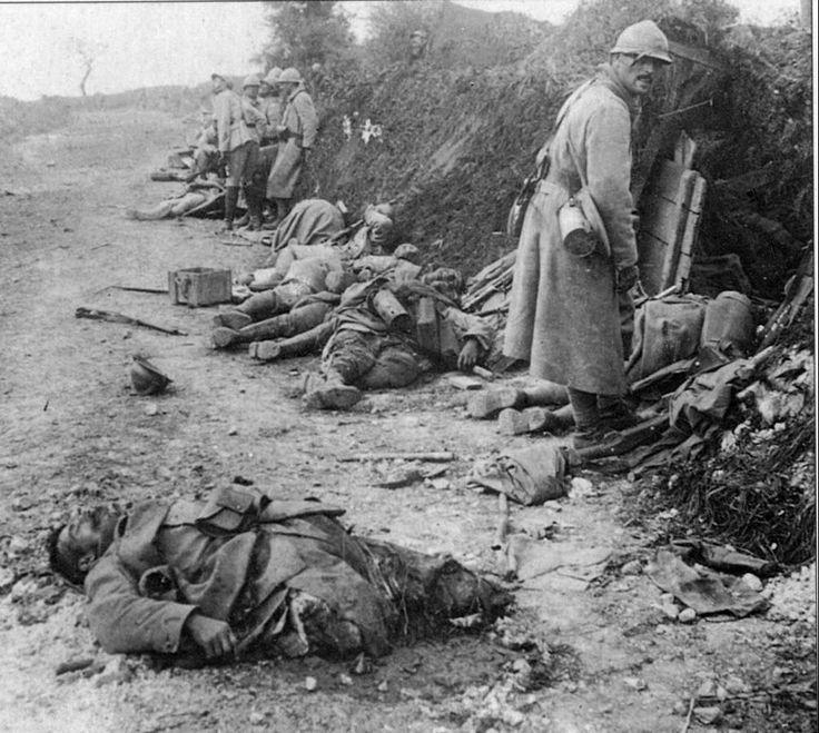 muertos de la primera guerra mundial