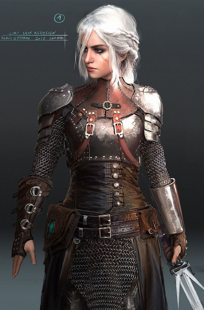 """geekhideout: """" Ciri Chainmail concept.. Awesome!!! """""""