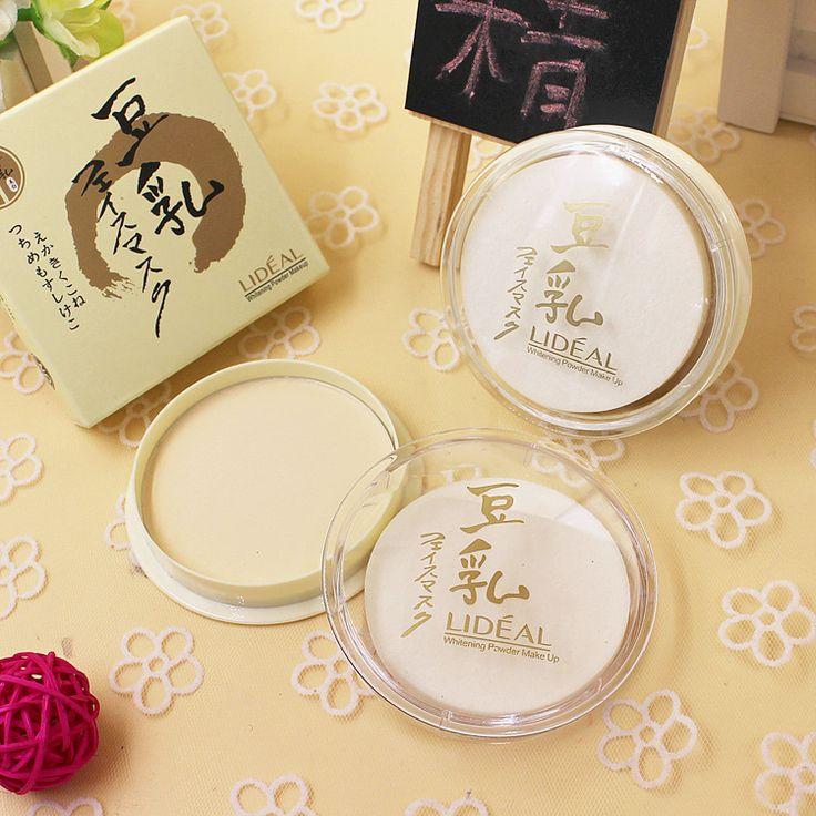 3 warna Natural wajah Loose powder, Ditekan halus kering concealer, Control minyak perawatan kecantikan Makeup
