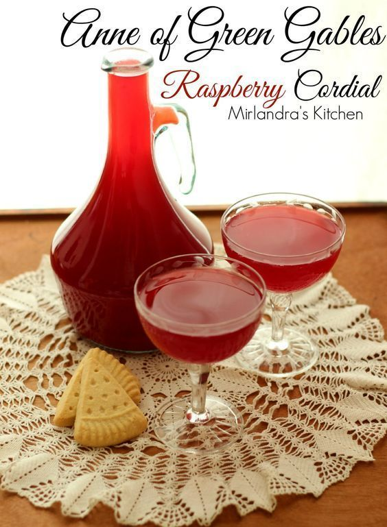This delightful raspberry cordial might be the most perfect use for raspberrie.