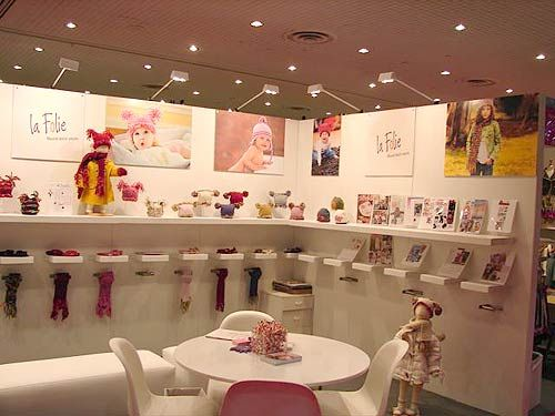 Exhibition Stand Idea : Simple white display la folie trade show by