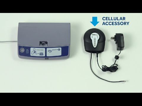 How to Add a Cellular Accessory to the CareLink™ 2490 Home Monitor, Mode...