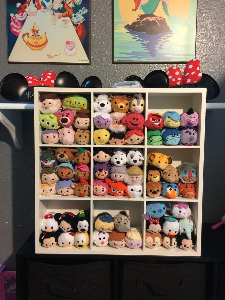 Tsum Tsum display / storage using target shelf