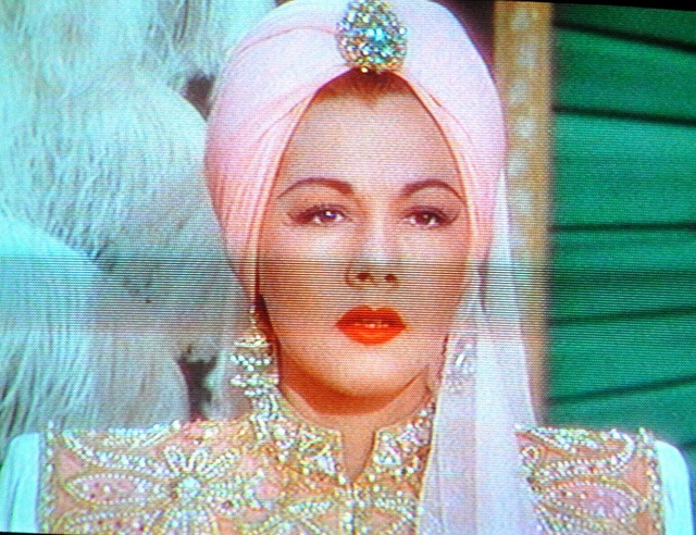"""Maria Montez, """"Ali Baba and the Forty Thieves"""" (1944) by tsweden, via Flickr Queen of Technicolor MM"""