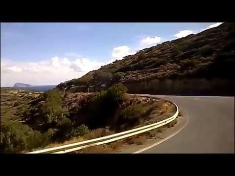 Μωσαϊκό: By bus Agios Nikolaos - Pachia Ammos ....