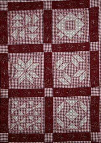 mosaicos en rojo