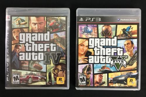 PlayStation 3 PS3 Grand Theft Auto GTA 4 & 5 Game Lot - Brand New: $52.00 End Date: Friday Mar-23-2018 18:30:56 PDT Buy It Now for only:…