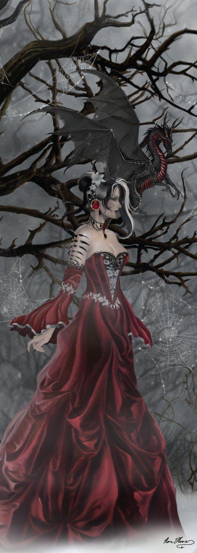 Nene Thomas Dragons | Dragon Queen of Shadows New Nene Thomas Artist 1000 Piece Jigsaw ...: