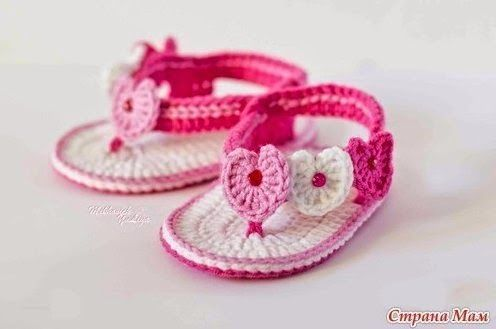 Мир хобби: Пинетки-вьетнамки для принцессы (вязание крючком)