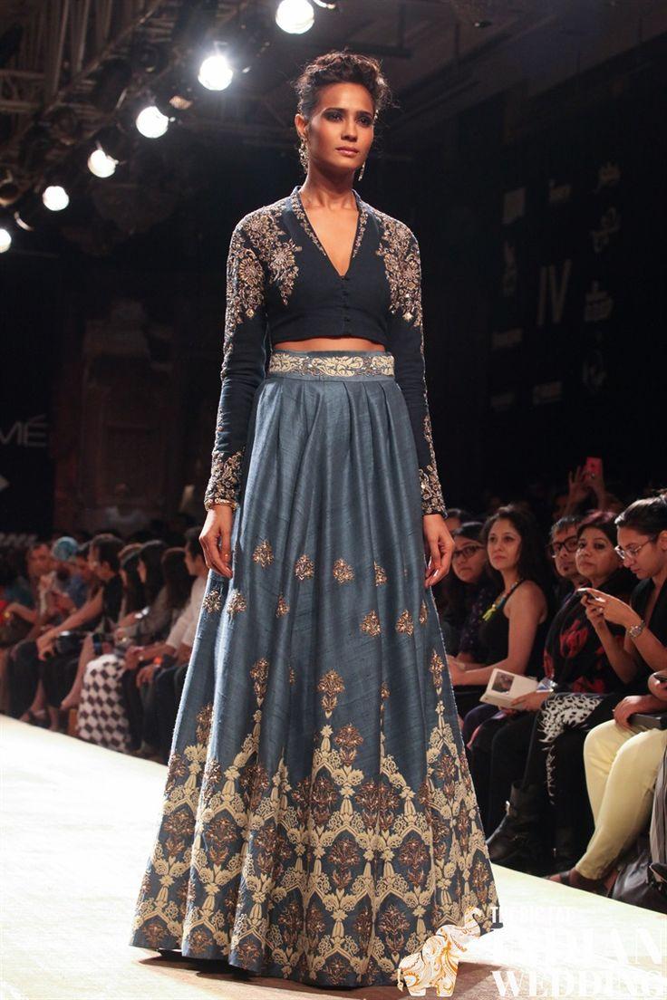 Anju Modi Lakme Fashion Week Winter 2014-4