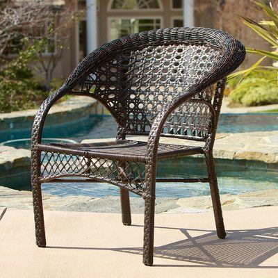 Home Loft Concepts Darlington Outdoor Wicker Chairs. Best 25  Outdoor wicker chairs ideas on Pinterest   Backyard